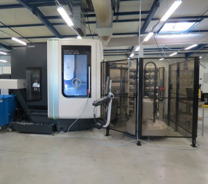 Investissements 2012 : Parc machines CN en tournage