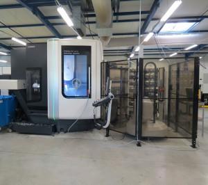Matechplast continue ses investissements en 2012 avec son centre d'usinage 5 axes DMU60