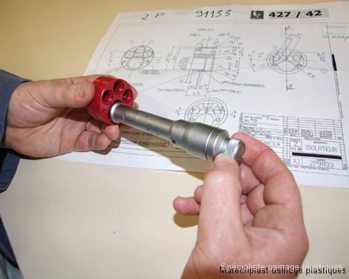 Micromètre pour contrôle intérieur autocentrant