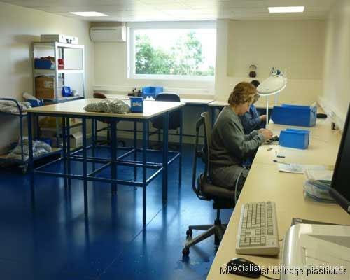 salle finition et montage climatisée