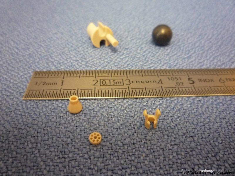 Micromécanique : pièces de petites dimensions en peek
