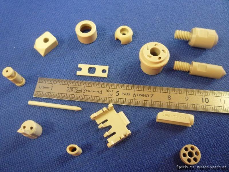 Tous secteurs : pièces de petites dimensions en peek